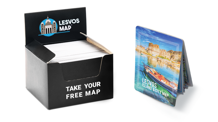 Lesvos Map